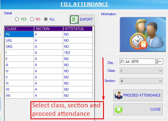 RE: How to mark student attendance and send message to parents in schooleio ?